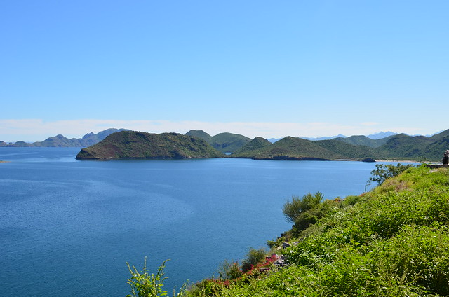 A view of the islands from the mainland