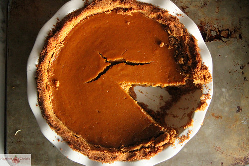 Pumpkin Graham Cracker pie