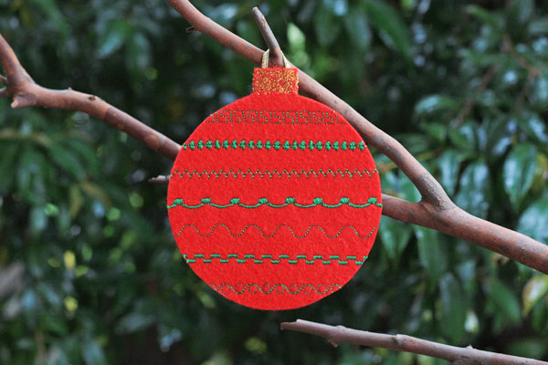 Felt Christmas Ornament