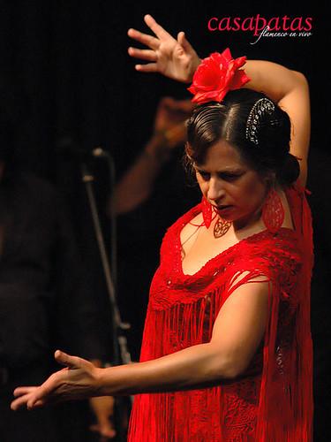 Raquela Ortega, al baile. Foto: Martín Guerrero