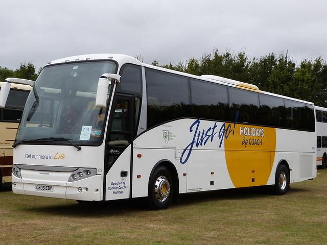 RAMBLER COACHES - Volvo B12B / Berkhof Axial (C53FT) - CR06 EDY