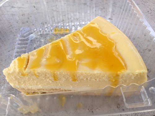 Nico's - passion fruit cheesecake