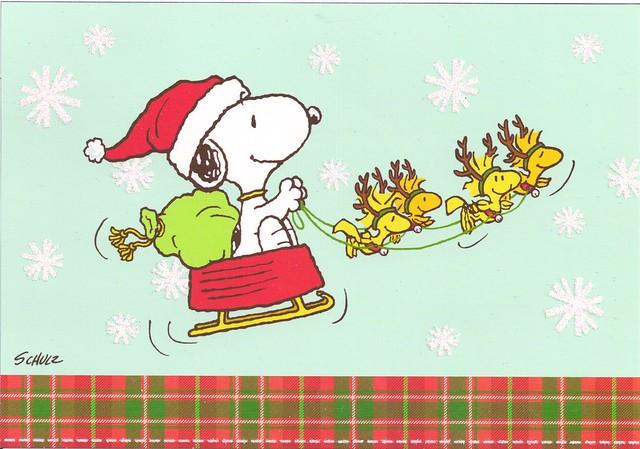 Snoopy Christmas Cards
