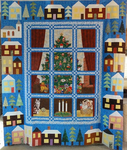 Christmas Village top FINISHED!