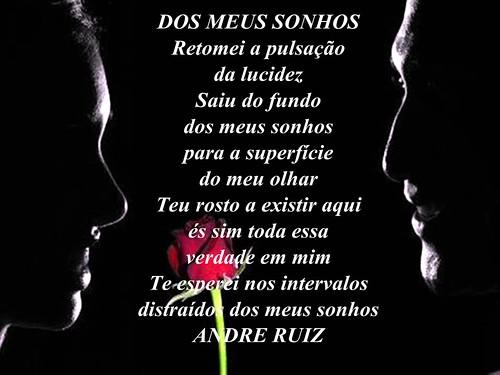 DOS MEUS SONHOS by amigos do poeta