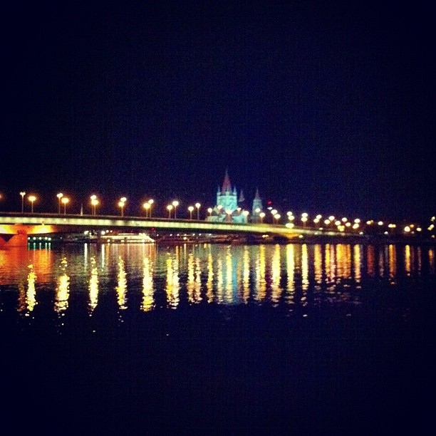 night on the danube