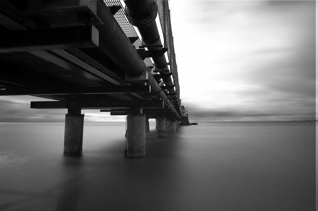 Dredge pier