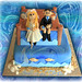 Fishing Wedding Cake by Cute Sweet Thing