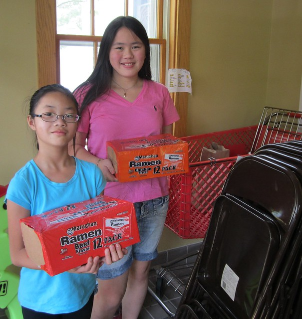 Donating Food to Food Shelf