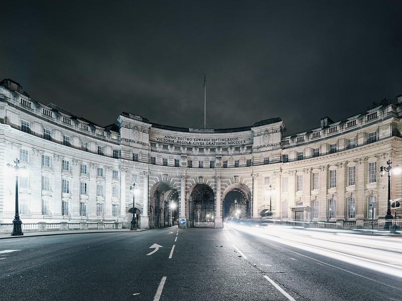Admiralty Arch.