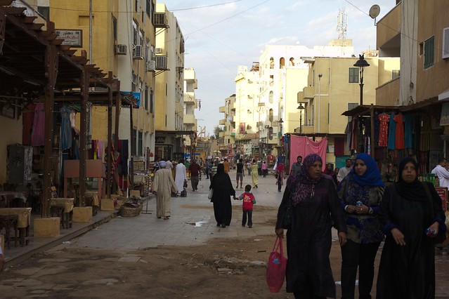 365 - Paseo en calesa en Aswan