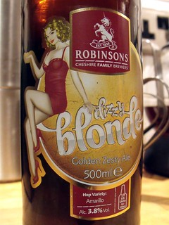 Robinsons, Dizzy Blonde, England