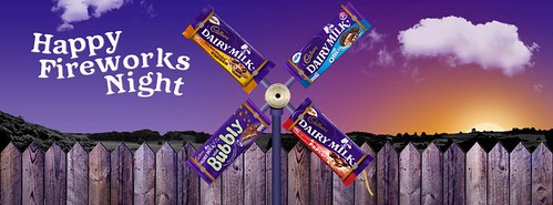 Happy Fireworks Night with Cadbury's Chocolate