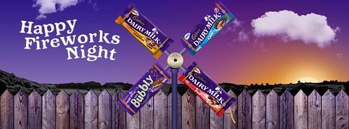 Happy Fireworks Night with Cadbury's Chocolate