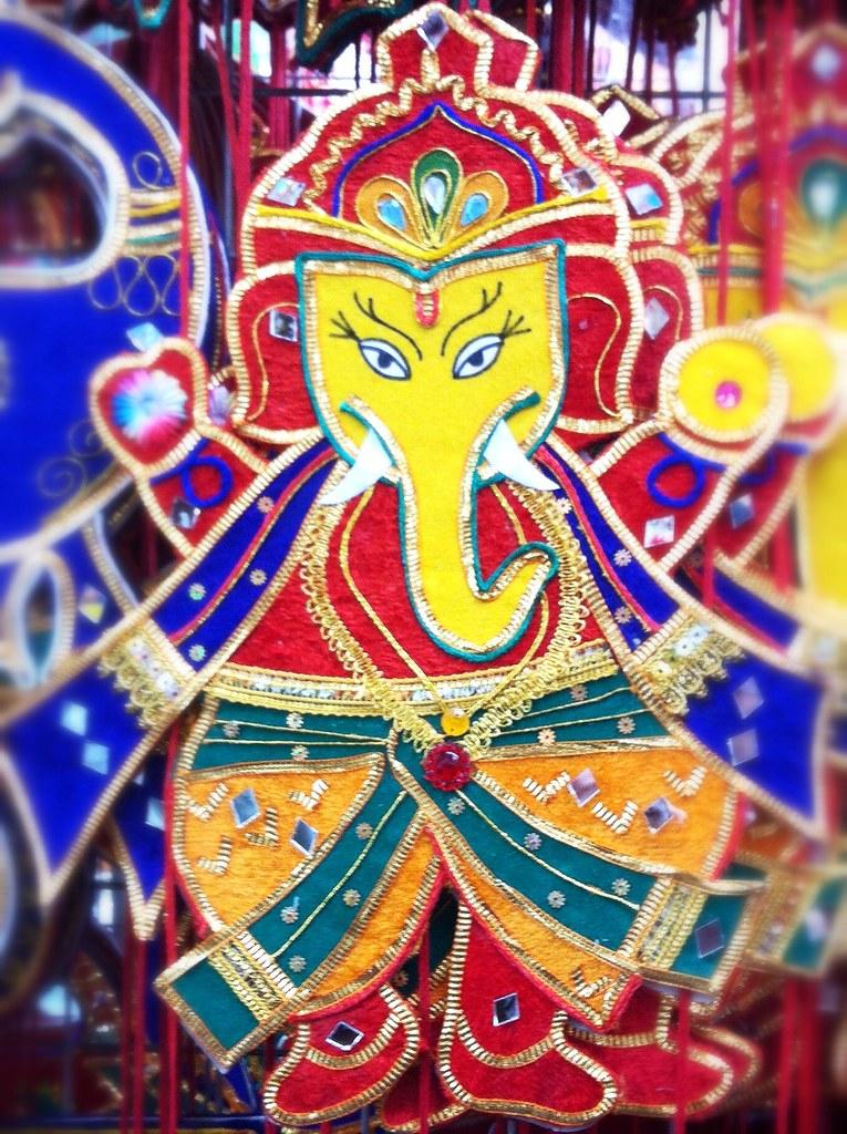 Celebrating Deepavali