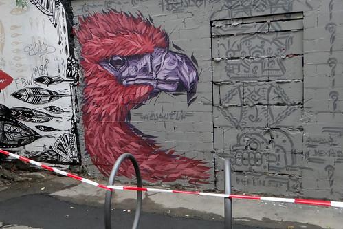 Roter Vogel