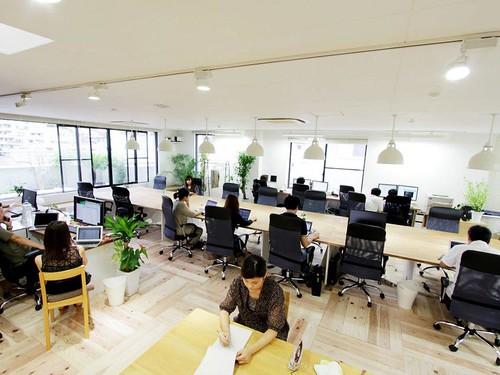 代々木のオフィス