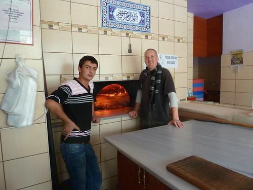 Ibrahim and the etli ekmek oven by mattkrause1969