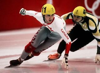 ALBERTVILLE WINTER OLYMPICS- SPEED SKATING
