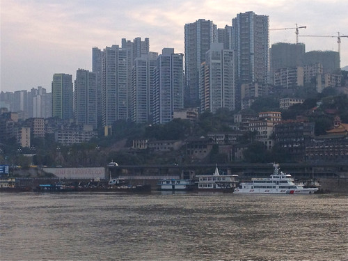 Chungqing from the Yangtze