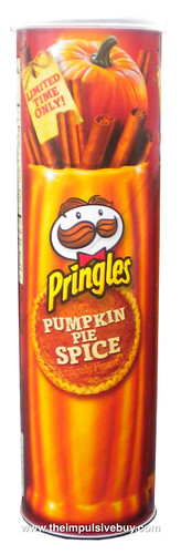 Limited Time Only Pringles Pumpkin Pie Spice