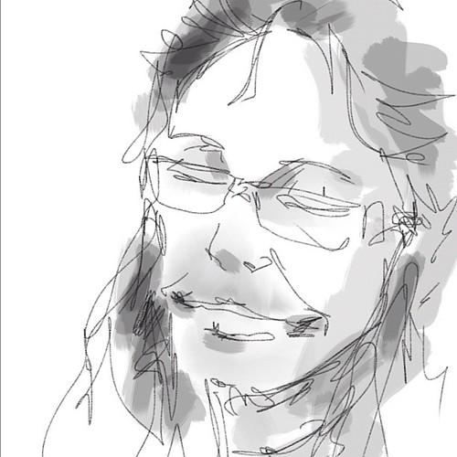My first ipad sketch in clermont