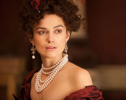 Kiera Knightly as Anna Karenina