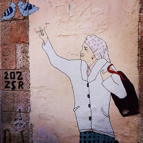 Street art, Jerusalem