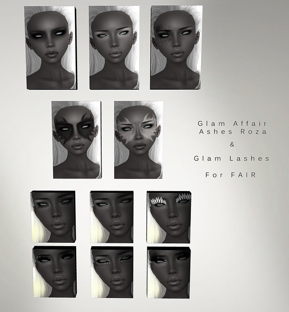 Glam Affair - Ashes Roza & Glam Lashes  for FAIR