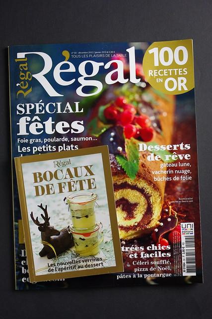 Mon livre bocaux de fête pour Régal magazine