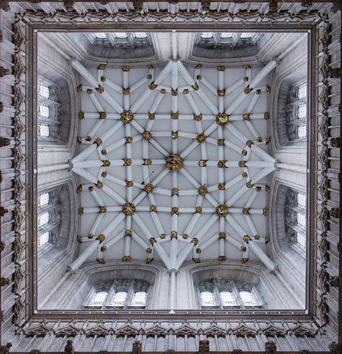 Ceiling Vaulting - York Minster Tower