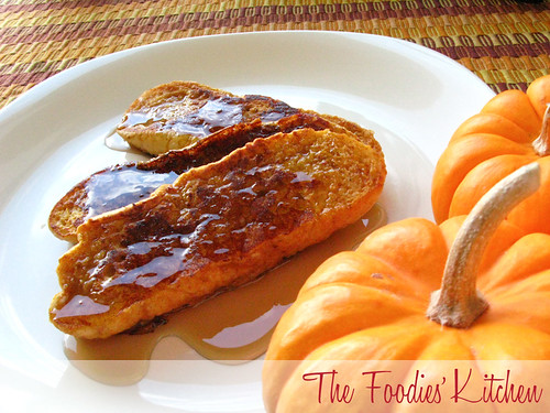 Pumpkin French Toasts