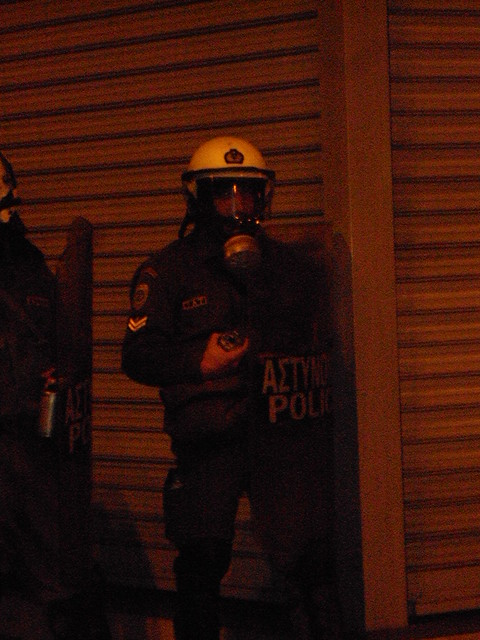 Polytechnic Protest Athens 17/11/12