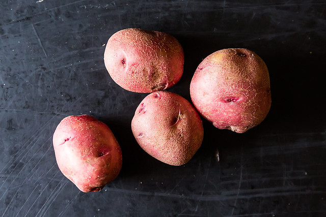 Alice Waters's Salt-Roasted Cranberry Red Potatoes on Food52