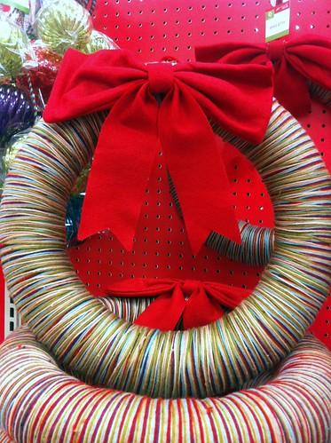 WPIR - yarn wreath