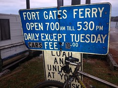 Fort Gates Ferry