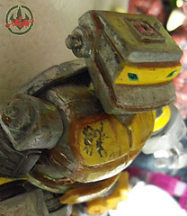Nickelodeon  TEENAGE MUTANT NINJA TURTLES :: METALHEAD { tOkKUSTOM JUNKYARD Rust WASH } xi (( 2012 ))