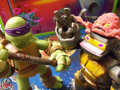 Nickelodeon  TEENAGE MUTANT NINJA TURTLES :: METALHEAD  xxii / ..with Nick Donatello & KRAANG (( 2012 ))