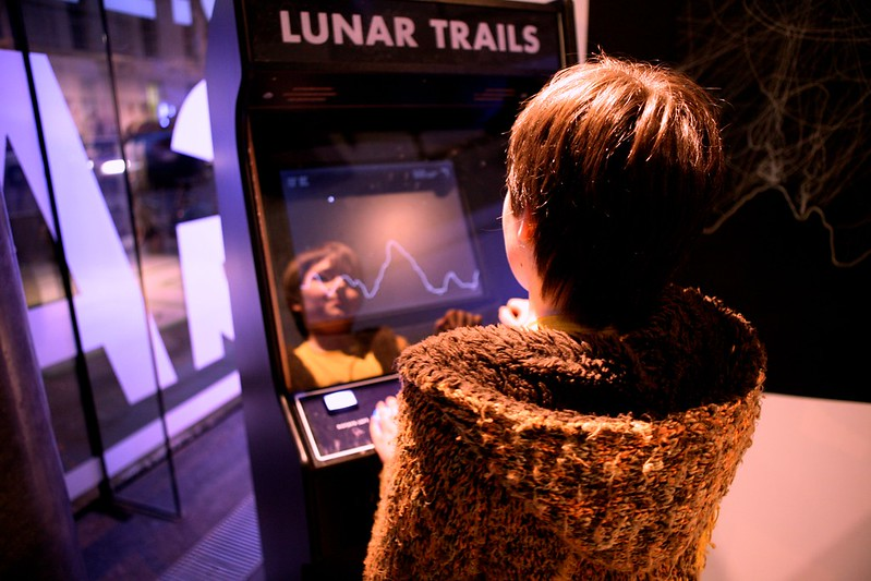Lunar Trails at the Dublin Science Gallery
