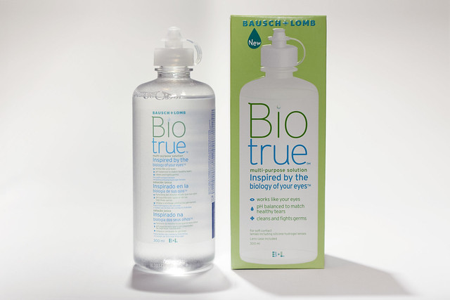 The Bio True is uniquely packaged in a transparent bottle with a pop on cap