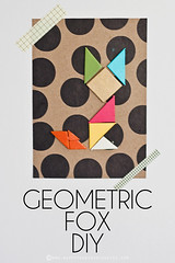 Geometric Fox DIY