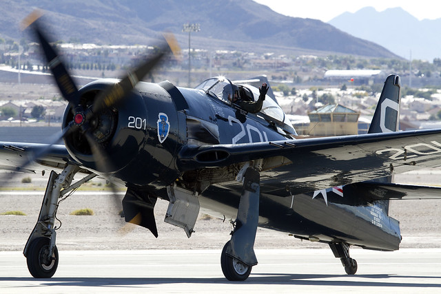 Bearcat Grumman F8F