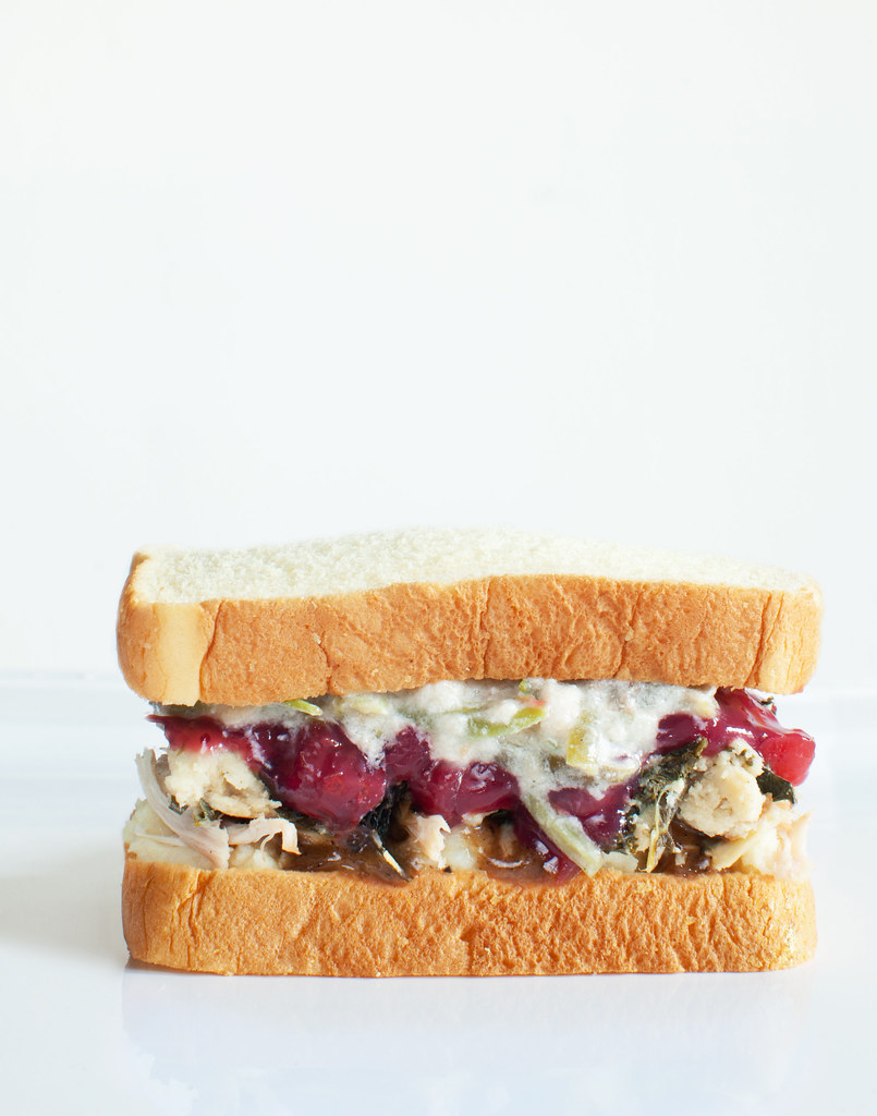 The Thanksgiving Leftover Sandwich