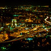 city lights Roanoke Virginia