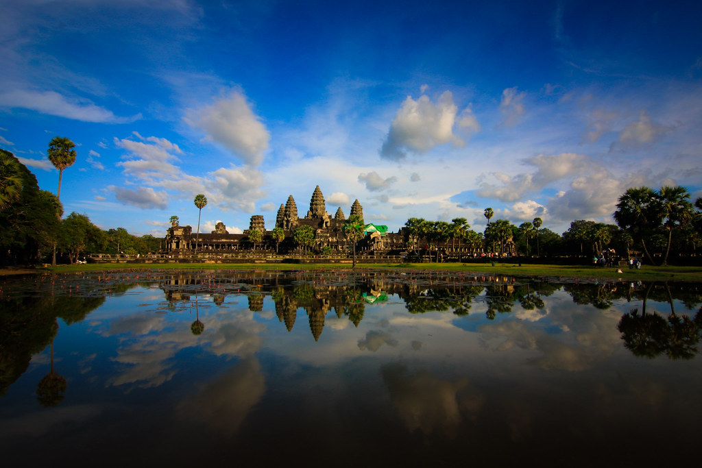 Angkor Wat, good afternoon.