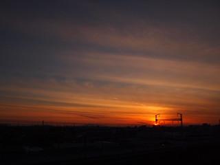 夕焼け小焼け20121125