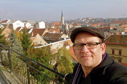 Me, exploring Zagreb