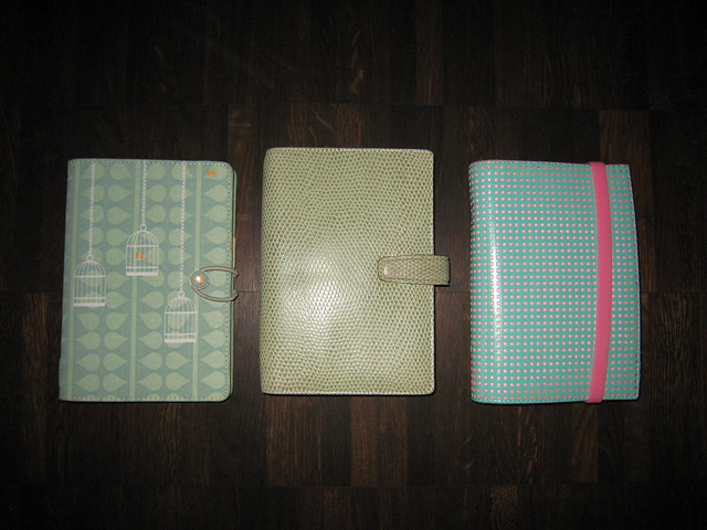 Filofax Colours (4): Green