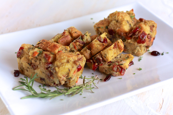 Savory Bread Pudding | TheNoshery.com