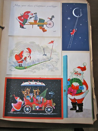 Vintage Christmas Cards Scrapbook 1 / 11